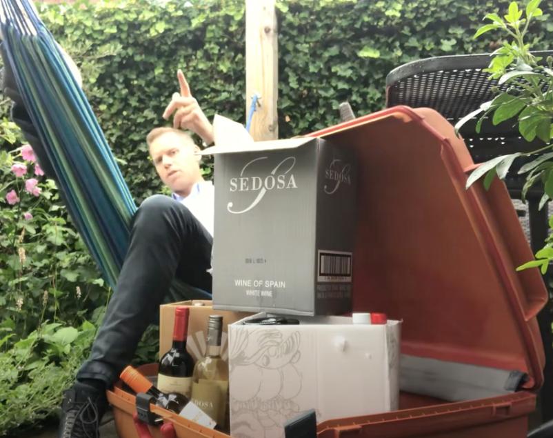 Achtertuin Summer-box