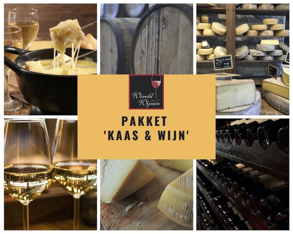 Pakket 'Kaas & wijn'