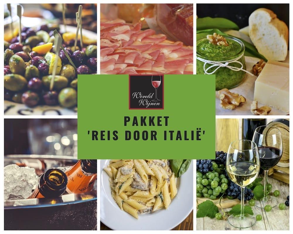 Pakket 'Reis door Italie'